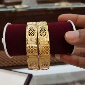 Women's Gold Kangan Diwali